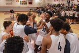 Highlights of Rochester high school basketball start Isaiah Stewart and Gerald Drumgoole starring for No.1 La Lumiere against national opponents.