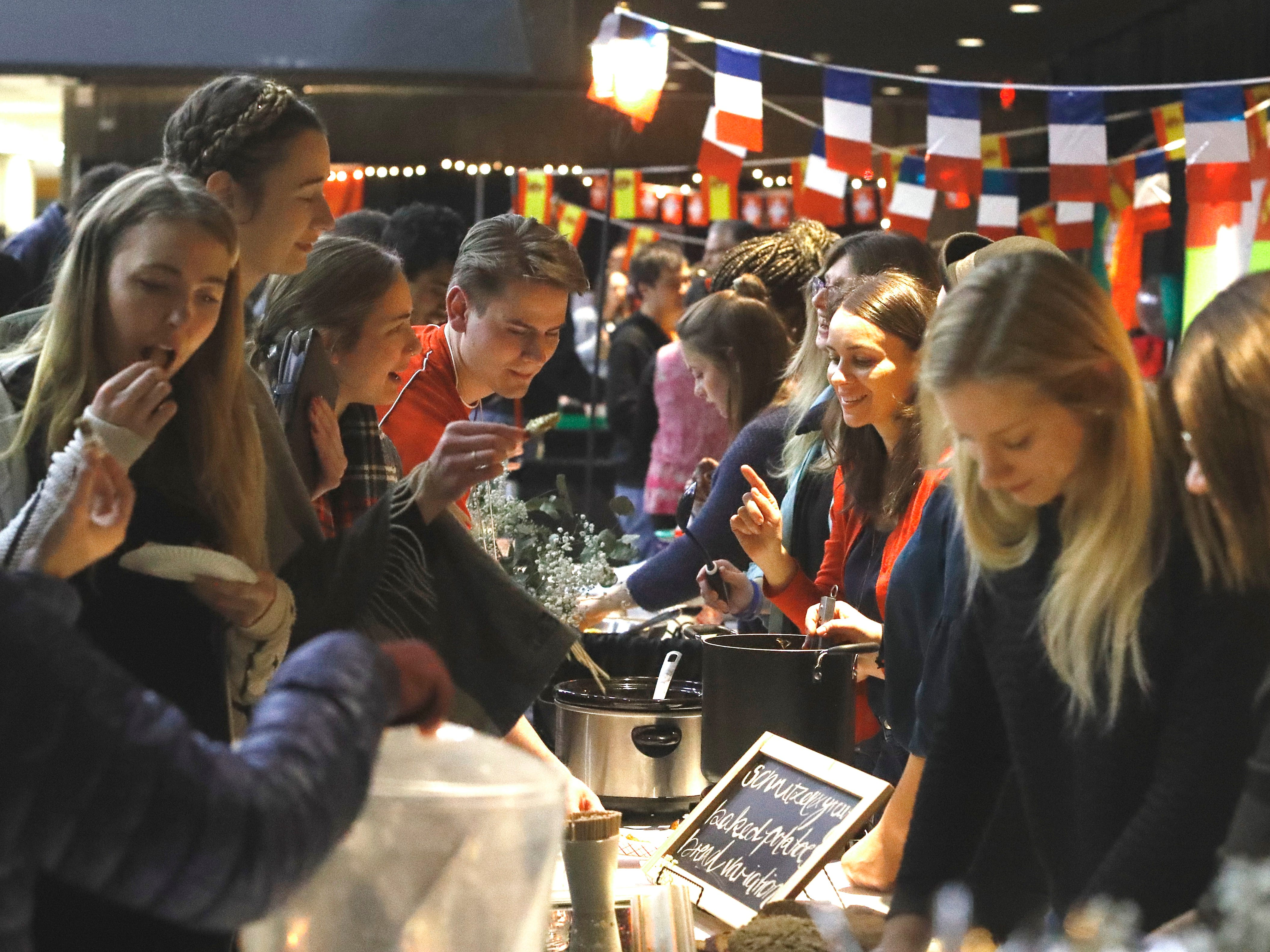 The Redding Civic Auditorium was filled with students from Bethel Church's School of Supernatural Ministry and guests during the 10th annual Festival of Cultures on Feb. 9, 2019.