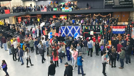 Bethel Church's annual Festival of Cultures was held in the Redding Civic Auditorium on Feb. 9, 2019.