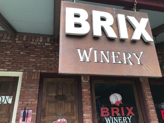 Brix Winery, 113 E. Concho Ave. in San Angelo