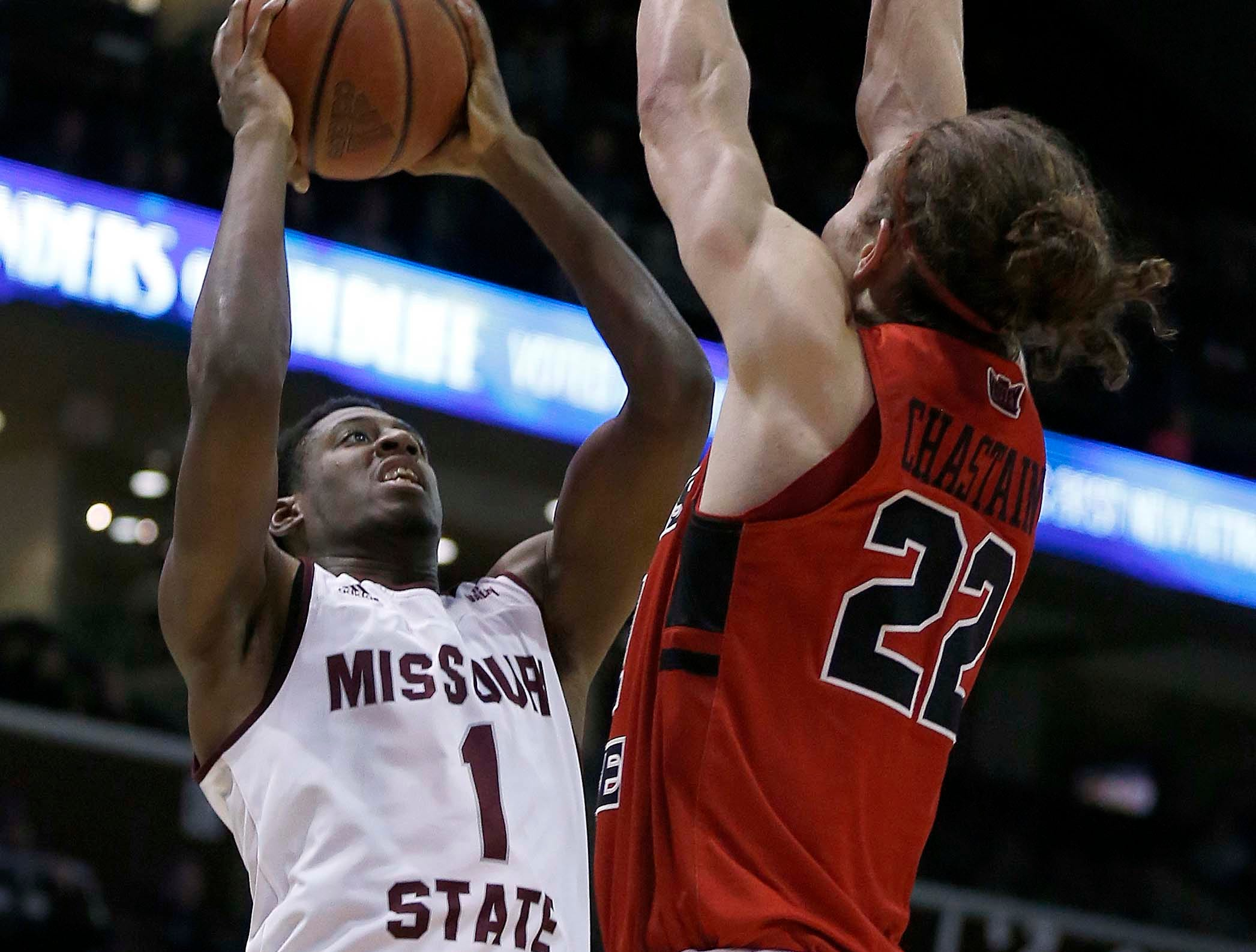Missouri State against the Illinois State Redbirds at JQH Arena in Springfield on Feb. 10, 2019.