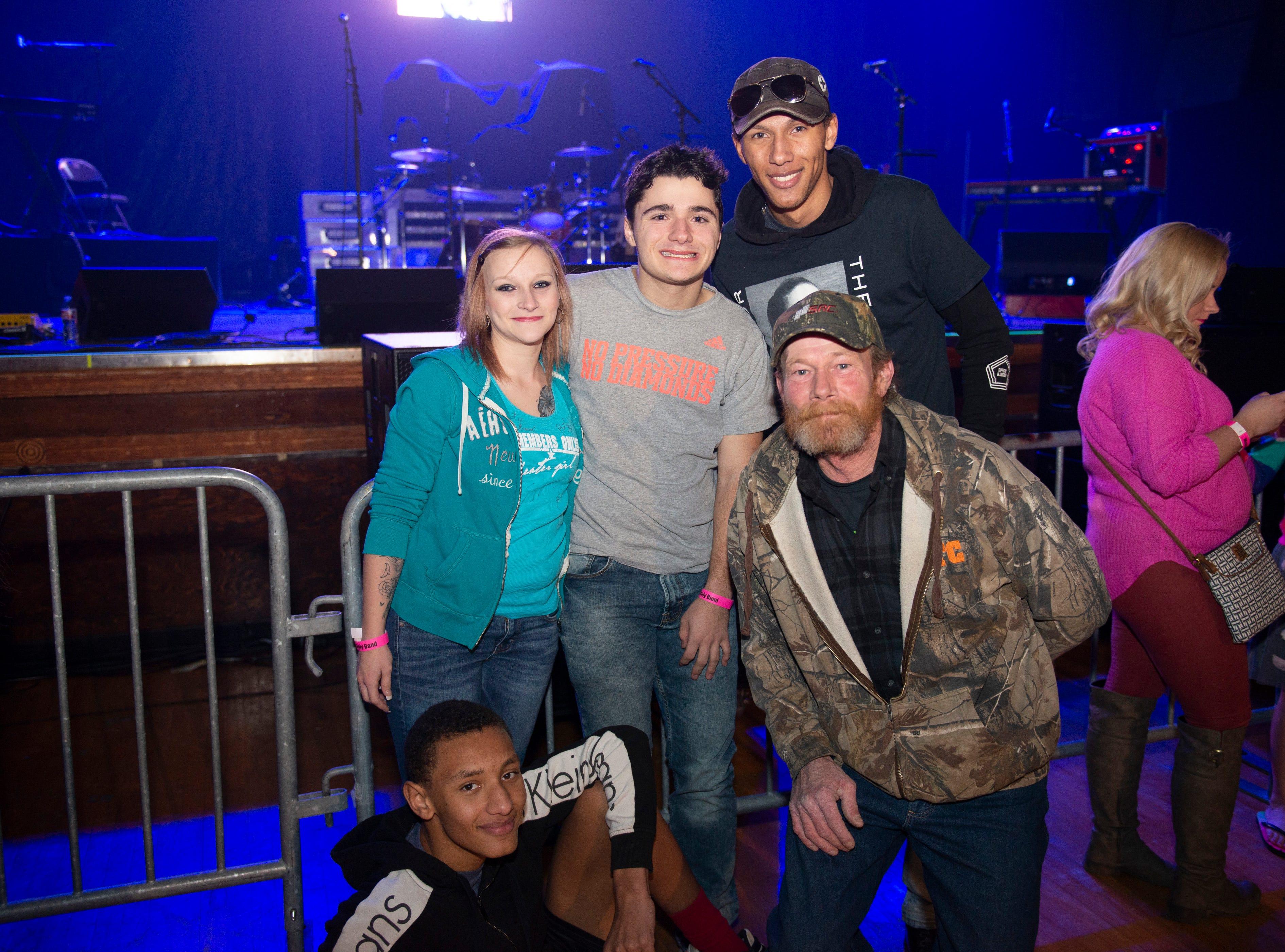 Paedon, John, Trey, Dalton, Savannah