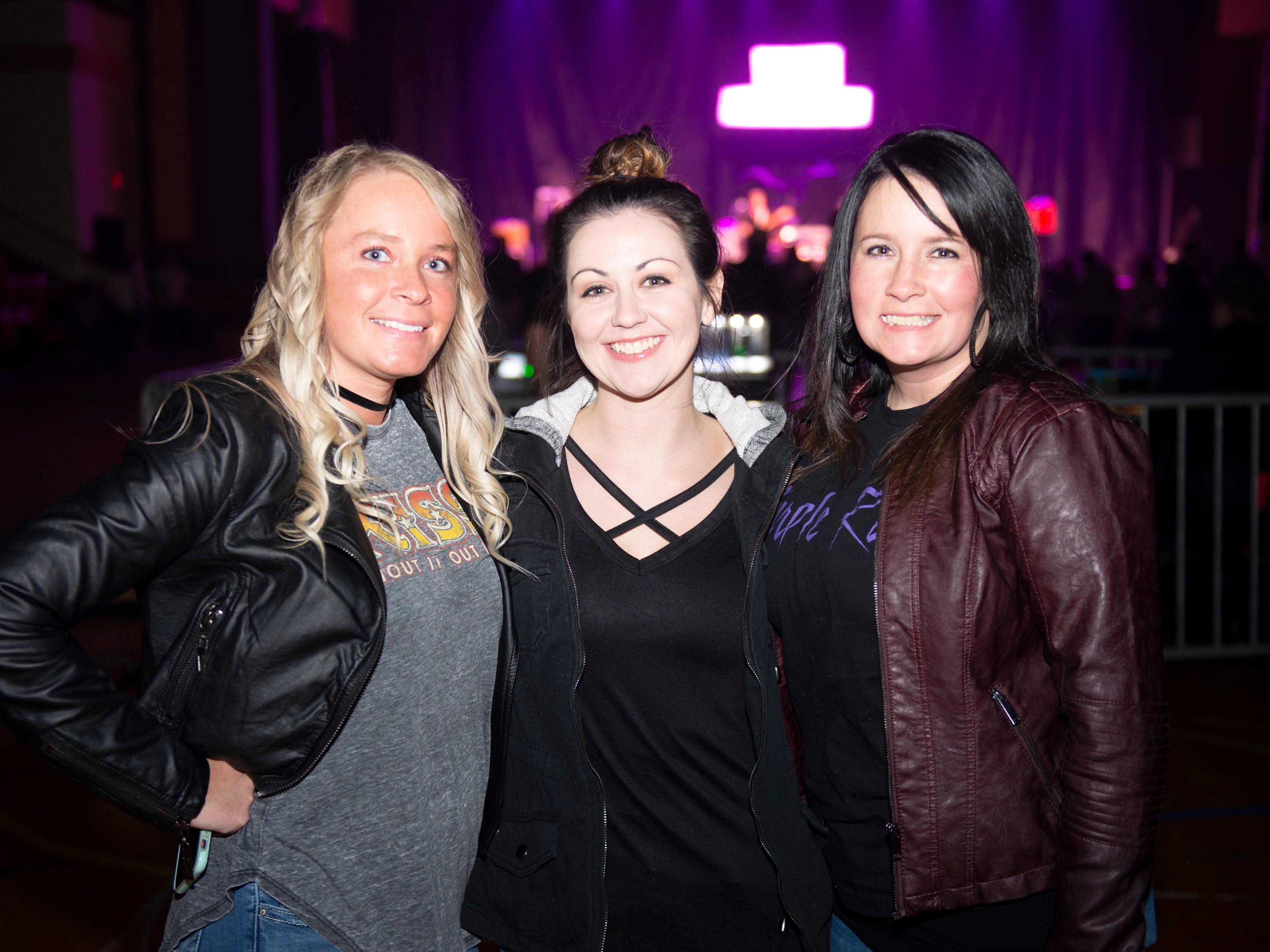 Samantha Wright, Aimee Farrell, Kami Boothe