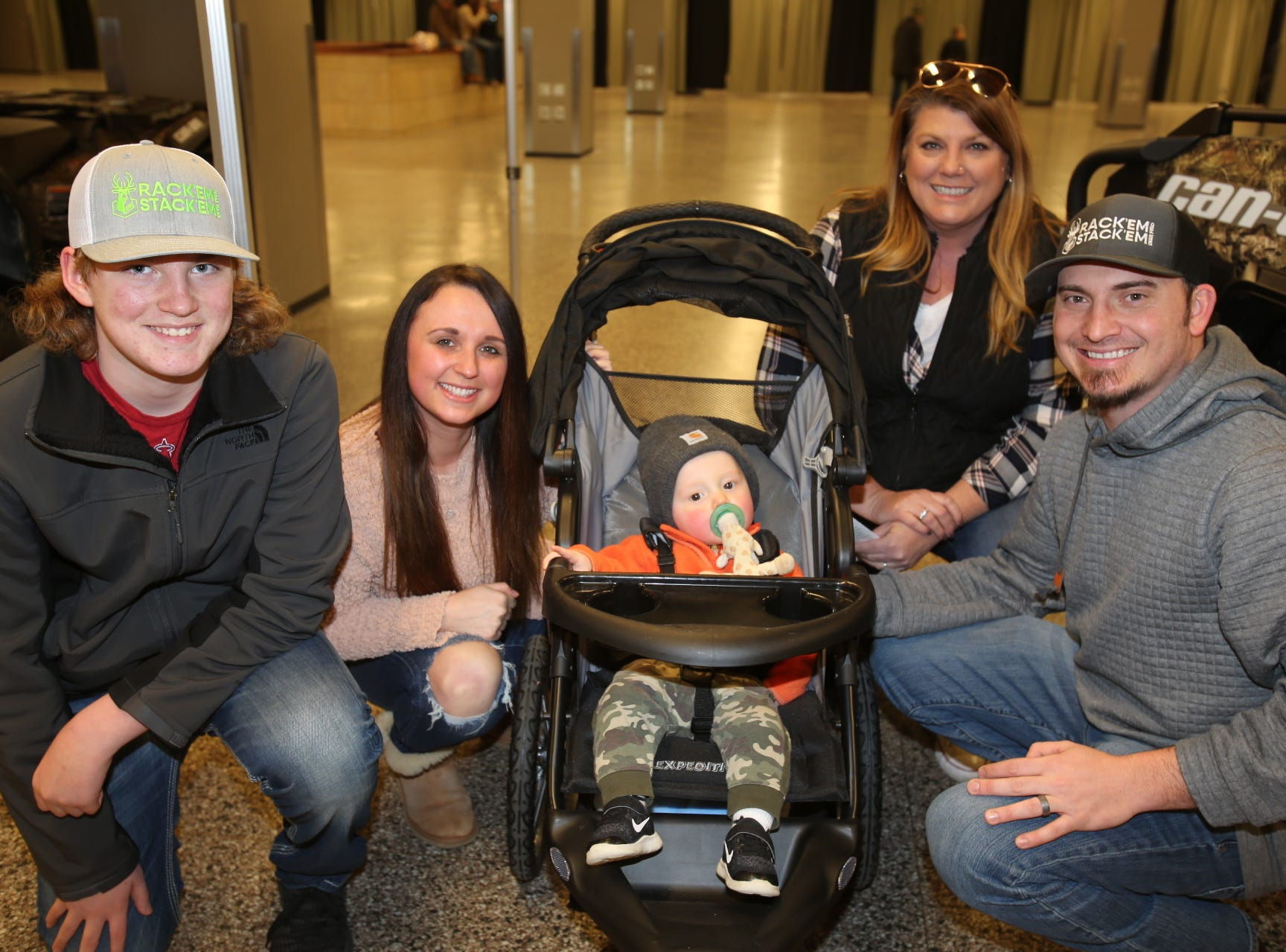 Jackson, Lacey, Laurie, Joey, and Hudson Lobland