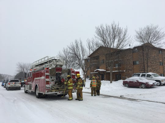 Sauk Rapids Fire Department was called to put out a fire at 307 13th St. N on Sunday morning