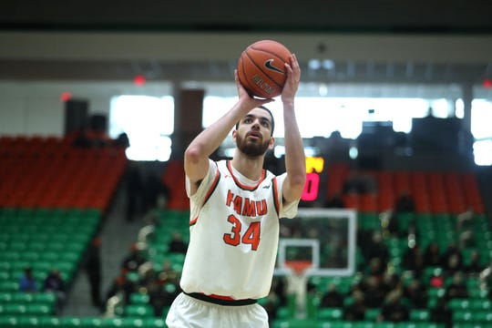 FAMU center Isaiah Martin scored 12 points in a 70-66 loss to Howard on Saturday, Feb. 9 at the Lawson Center. He hopes to avenge a previous defeat and split the season series with Norfolk State on Feb. 11.