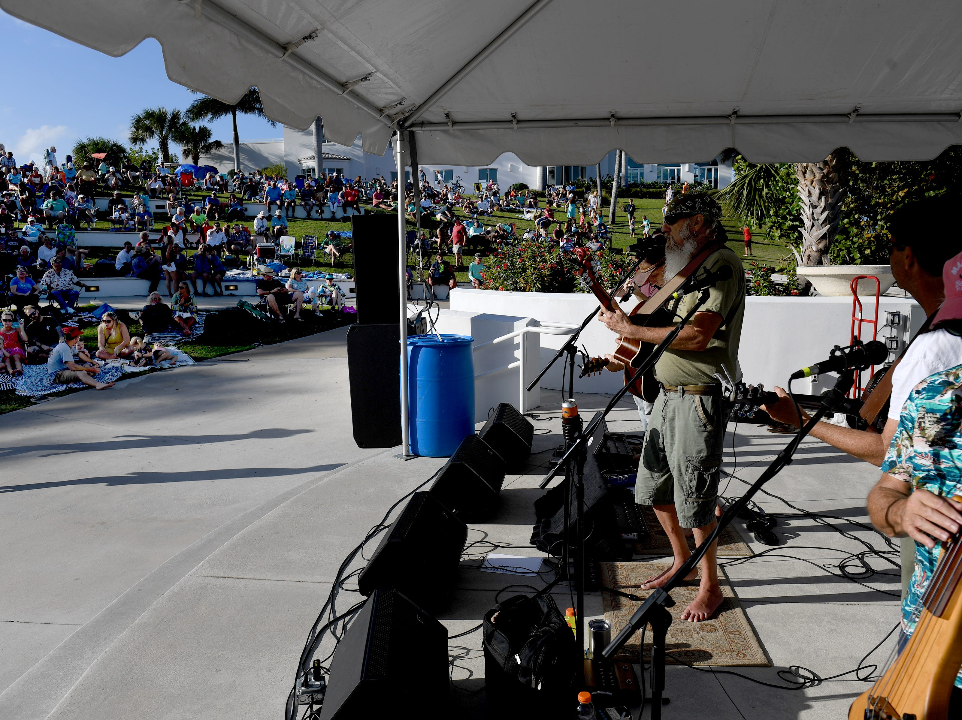 Hundreds of music fans filled the grounds at the Mansion at Tuckahoe to enjoy the music by the String Assassins, along with food, beverages, and kids activities during the Martin County Parks and Recreation's Concert Series at on the stage at the Mansion at Tuckahoe next to Riverside Park on Sunday, Feb. 10, 2019, in Jensen Beach.