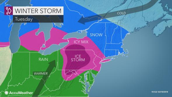 Winter storm, snow could mess up Tuesday's commute in Lower Hudson Valley