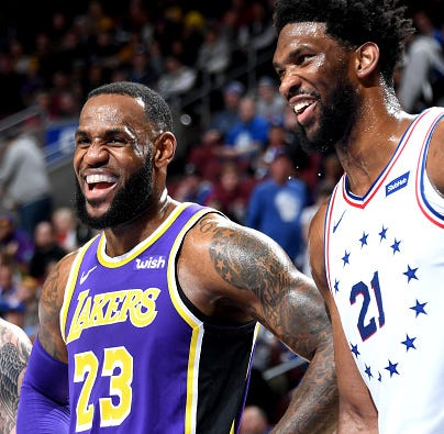 LeBron James responds to whether Sixers can stack up against Golden State Warriors