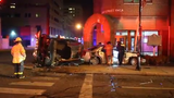 Raw Video: Only minor injuries suffered in rollover wreck in Wilmington
