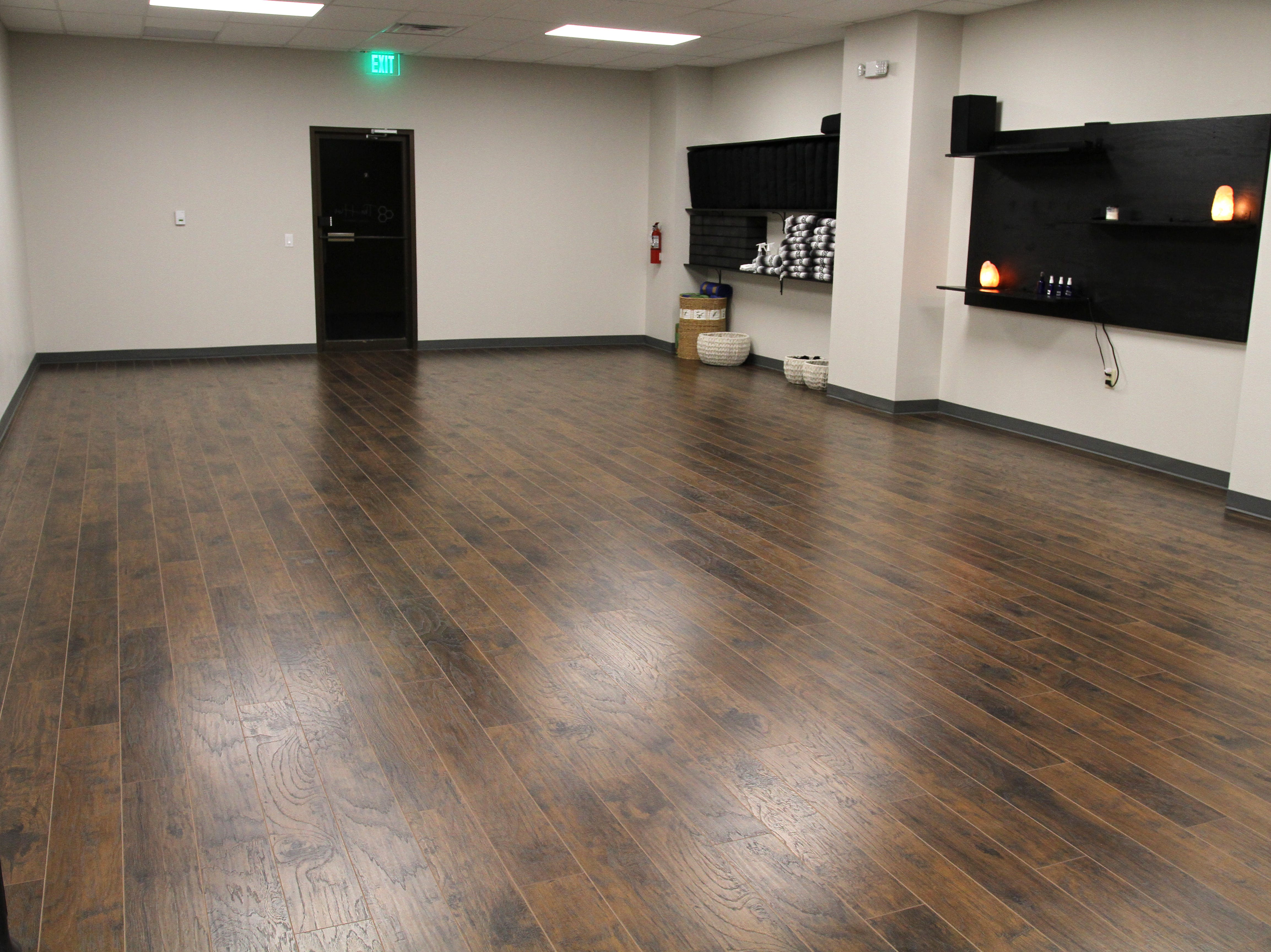 The Hive yoga studio in downtown Wichita Falls at 807 8th Street.