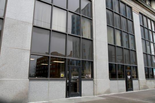 The Hive yoga studio in downtown Wichita Falls at 807 8th Street.