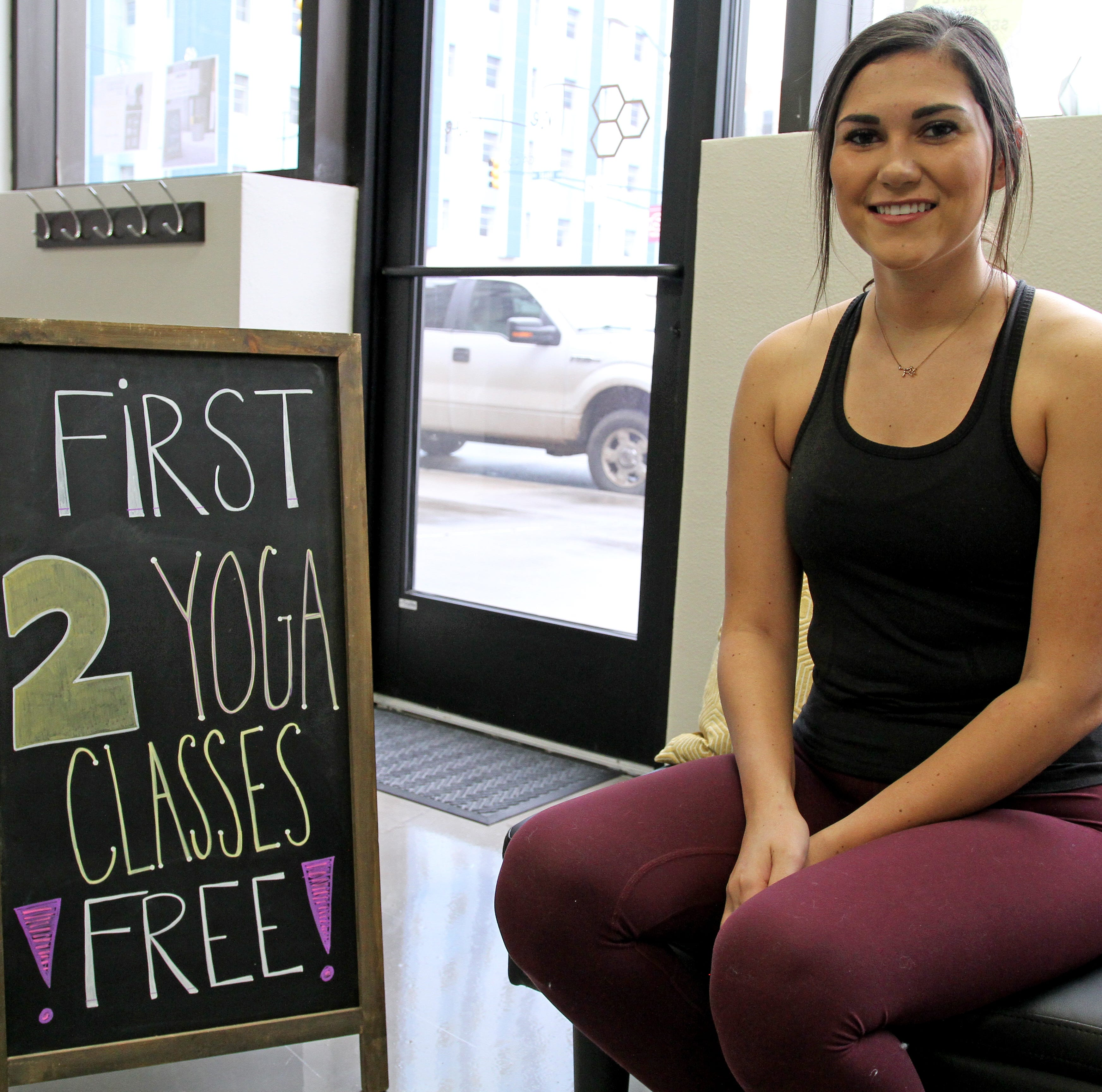 Native Wichitan puts emphasis on community in her new yoga studio