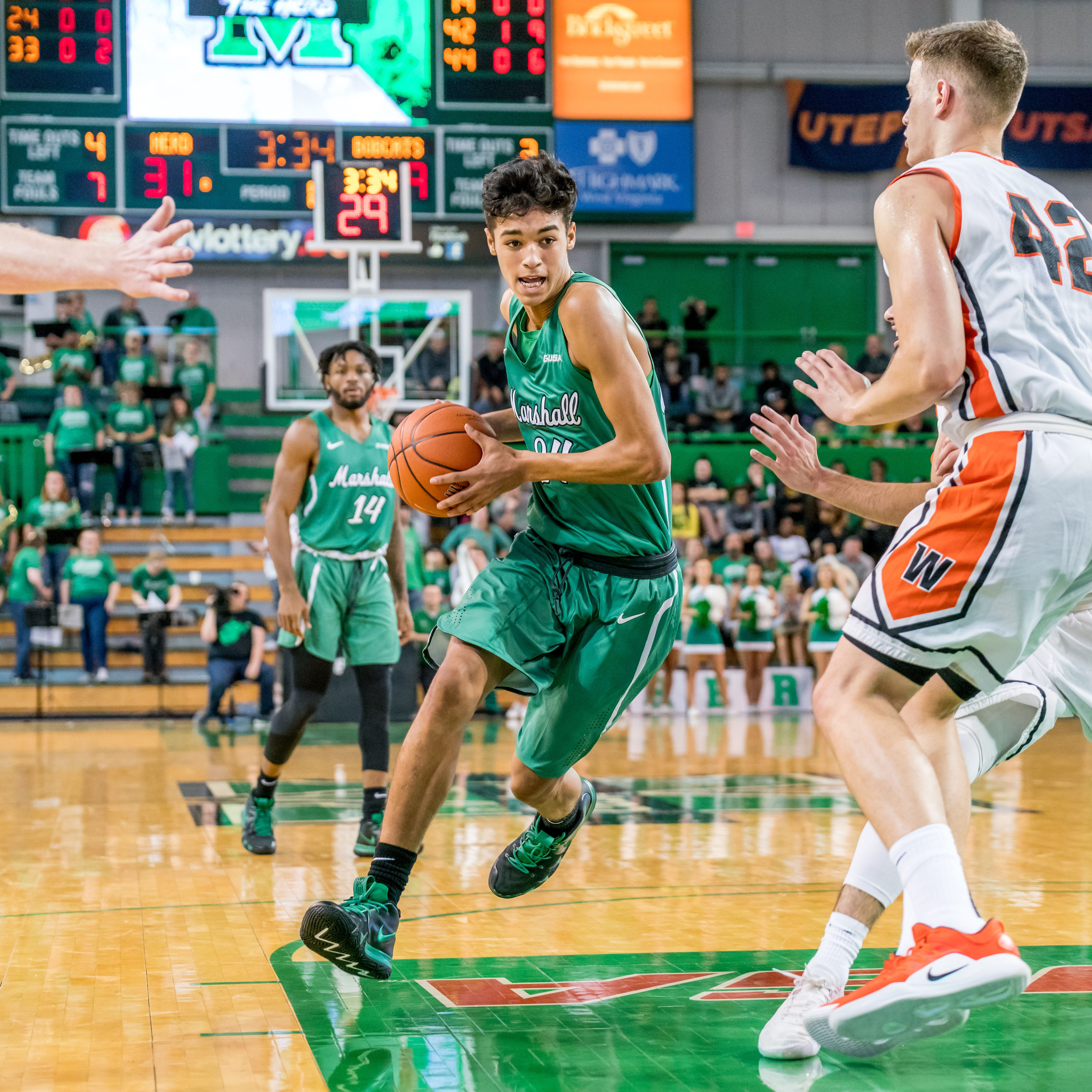 Brooks-Harris making the most of redshirt at Marshall