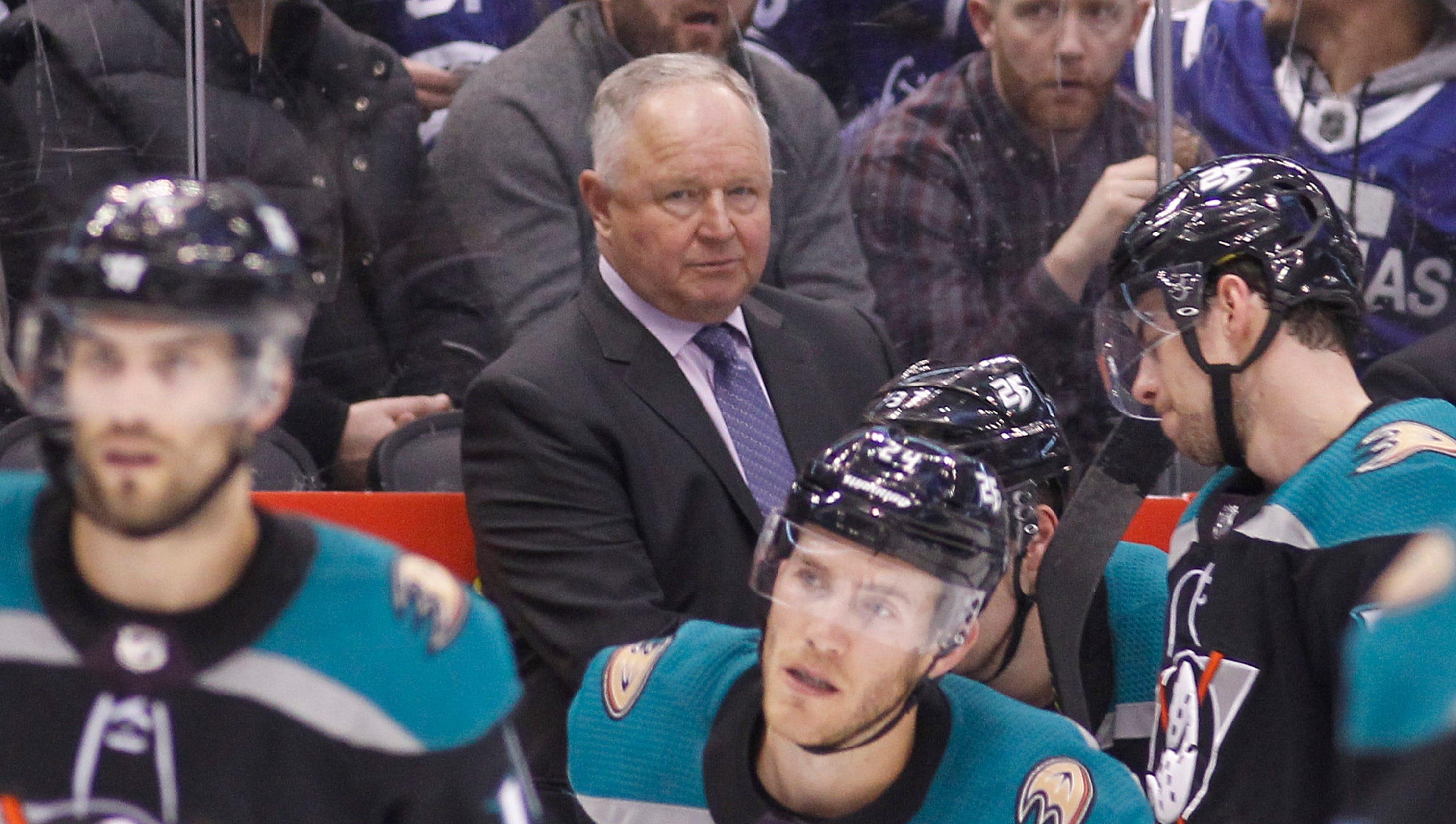 Randy Carlyle fired as Anaheim Ducks coach  GM cites team s  lack of  emotion  04ecd7a2a