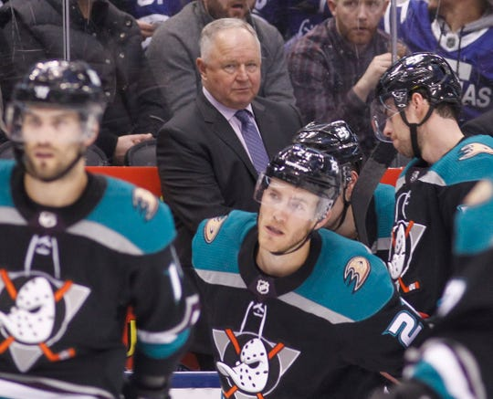 Randy Carlyle was fired as Anaheim Ducks coach after a disastrous stretch.