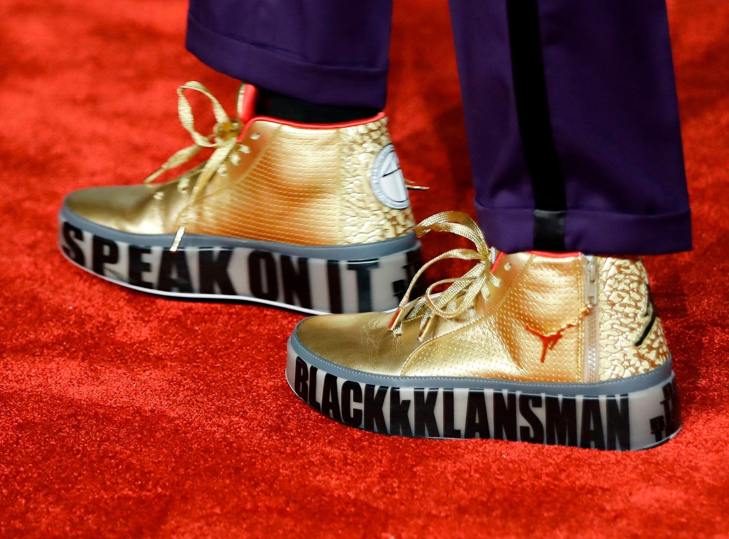 Director Spike Lee's shoes .