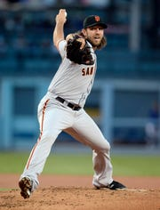 Giants ace Madison Bumgarner had a 3.26	ERA last season in 129 2/3 innings.
