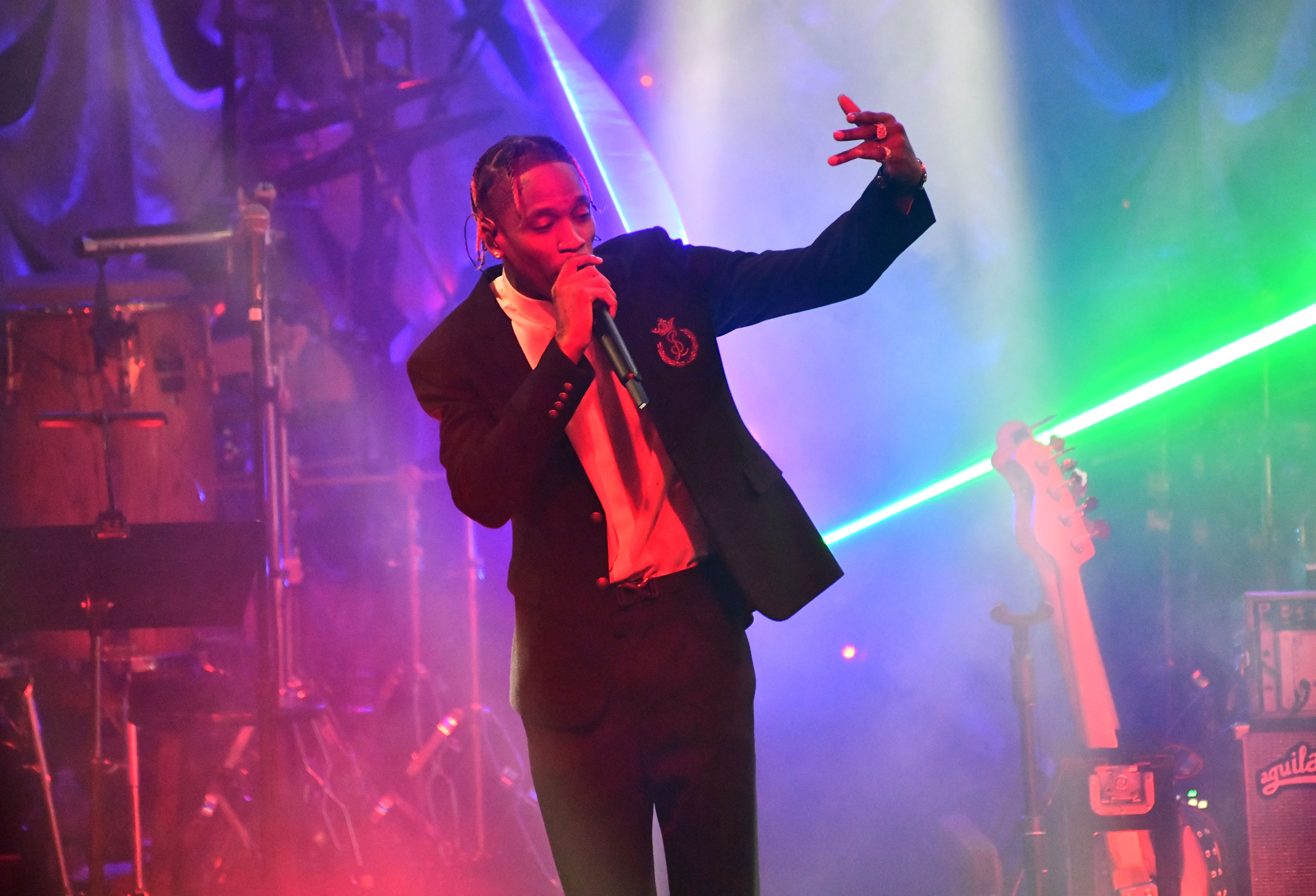 Clive Davis' pre-Grammys gala 2019: 5 biggest moments from Travis Scott to Nancy Pelosi