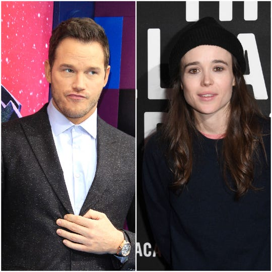 """Ellen page wants to know why fellow Marvel star Chris Pratt attends what she deems an """"infamously anti-LGBTQ church."""""""