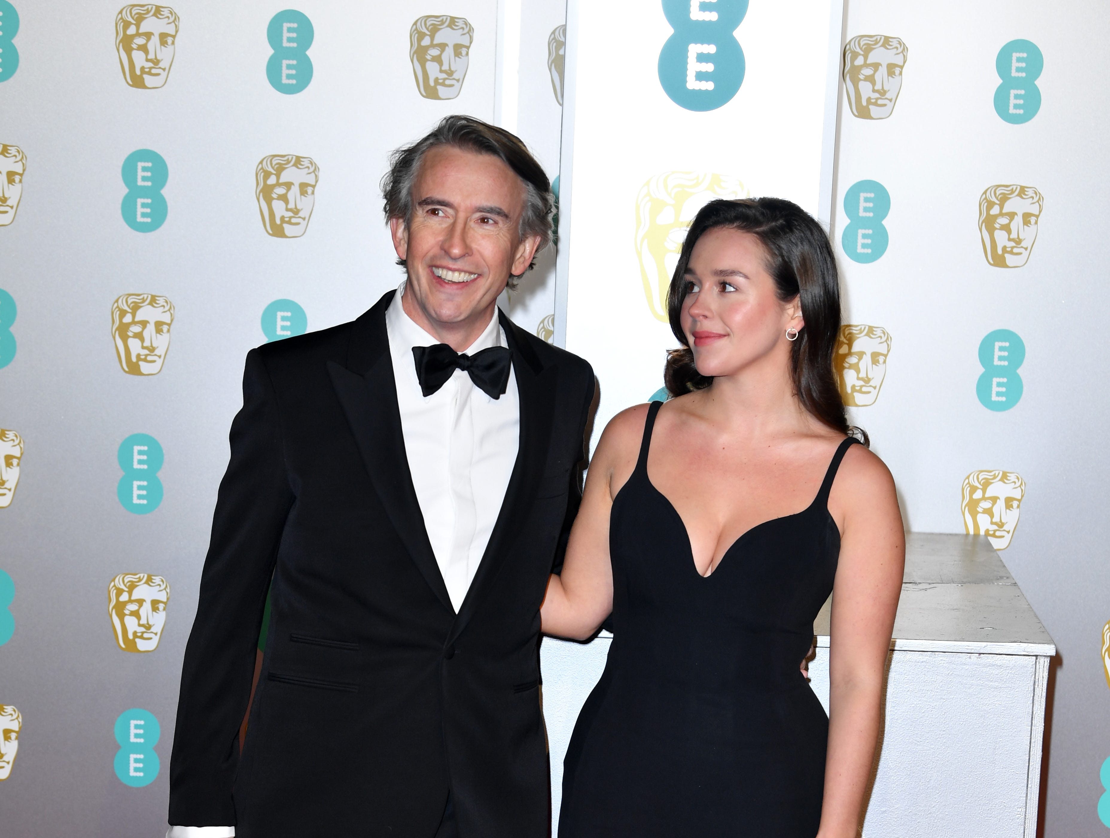 Steve Coogan and daughter Clare Coogan Cole