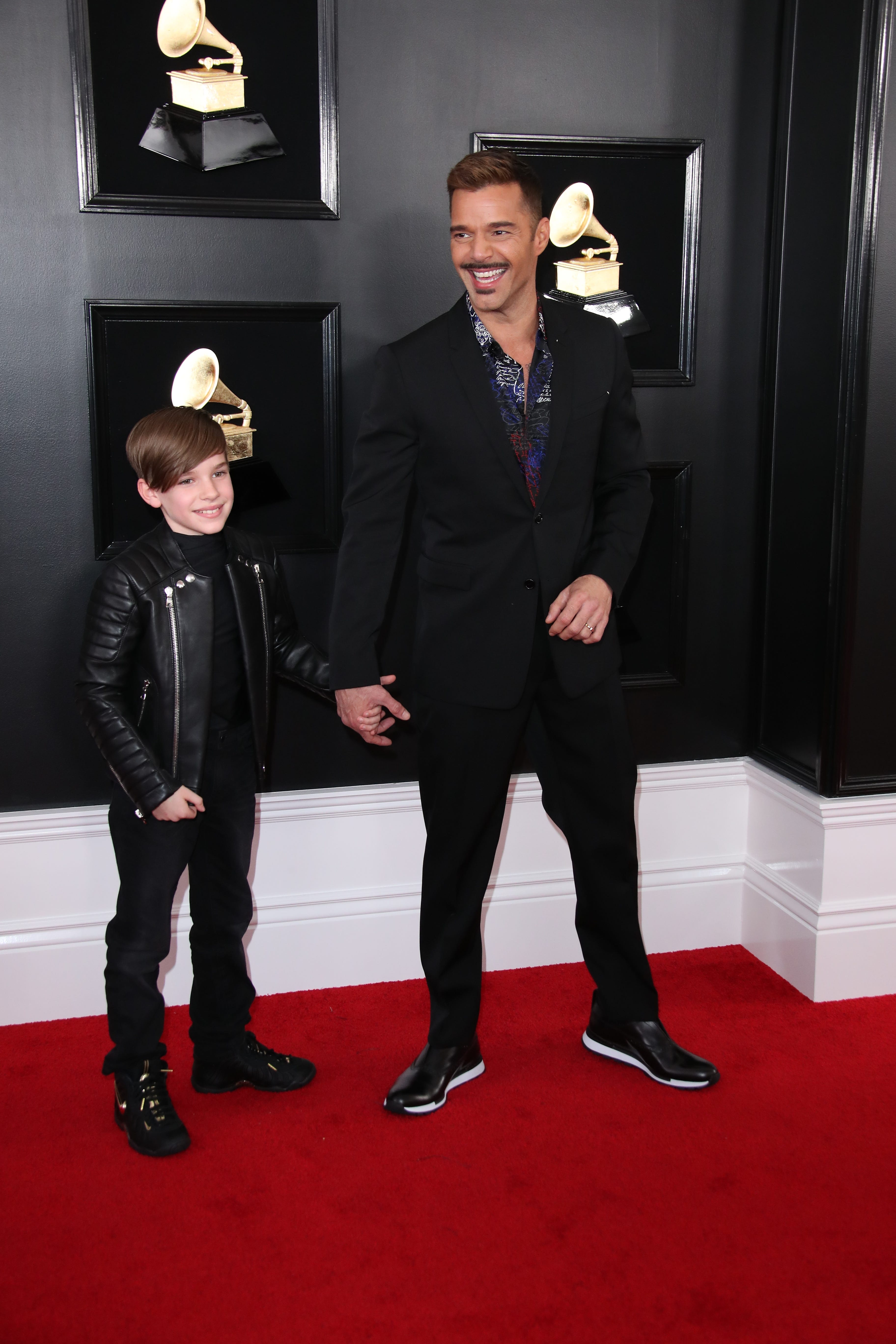Matteo Martin and Ricky Martin