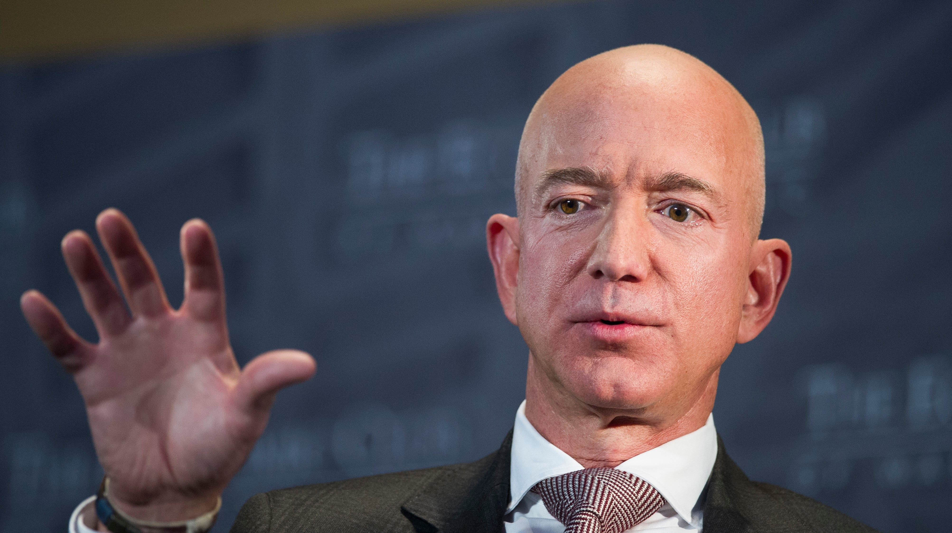 Jeff Bezos accused American Media Inc. (AMI) of blackmail and extortion and 'SNL' won't let him live it down.