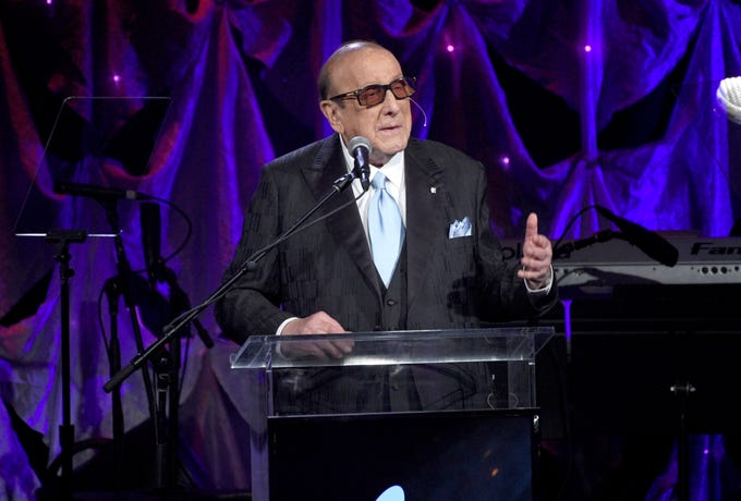 One of the Grammys' most storied traditions is Clive Davis' annual pre-Grammys gala, in which the music mogul hosts a star-studded crowd including many of music's most respected names, plus stars from the worlds of politics, sports, tech and more. Read on for more scenes from Grammy weekend's biggest party.