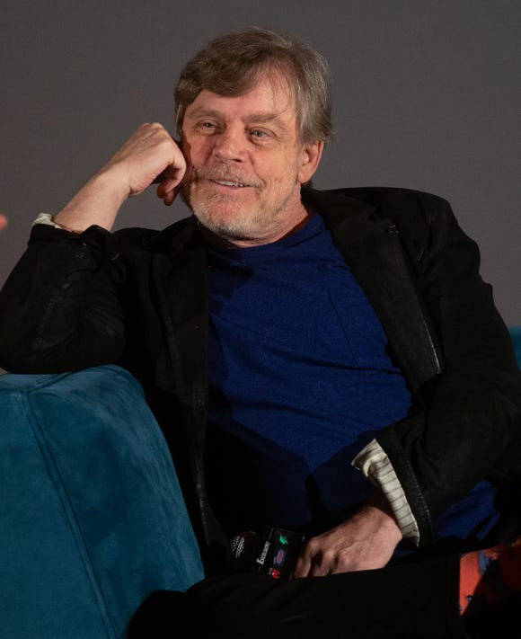 "Mark Hamill sounds ready for his ""Star Wars"" ""curtain call,"" as he calls it."