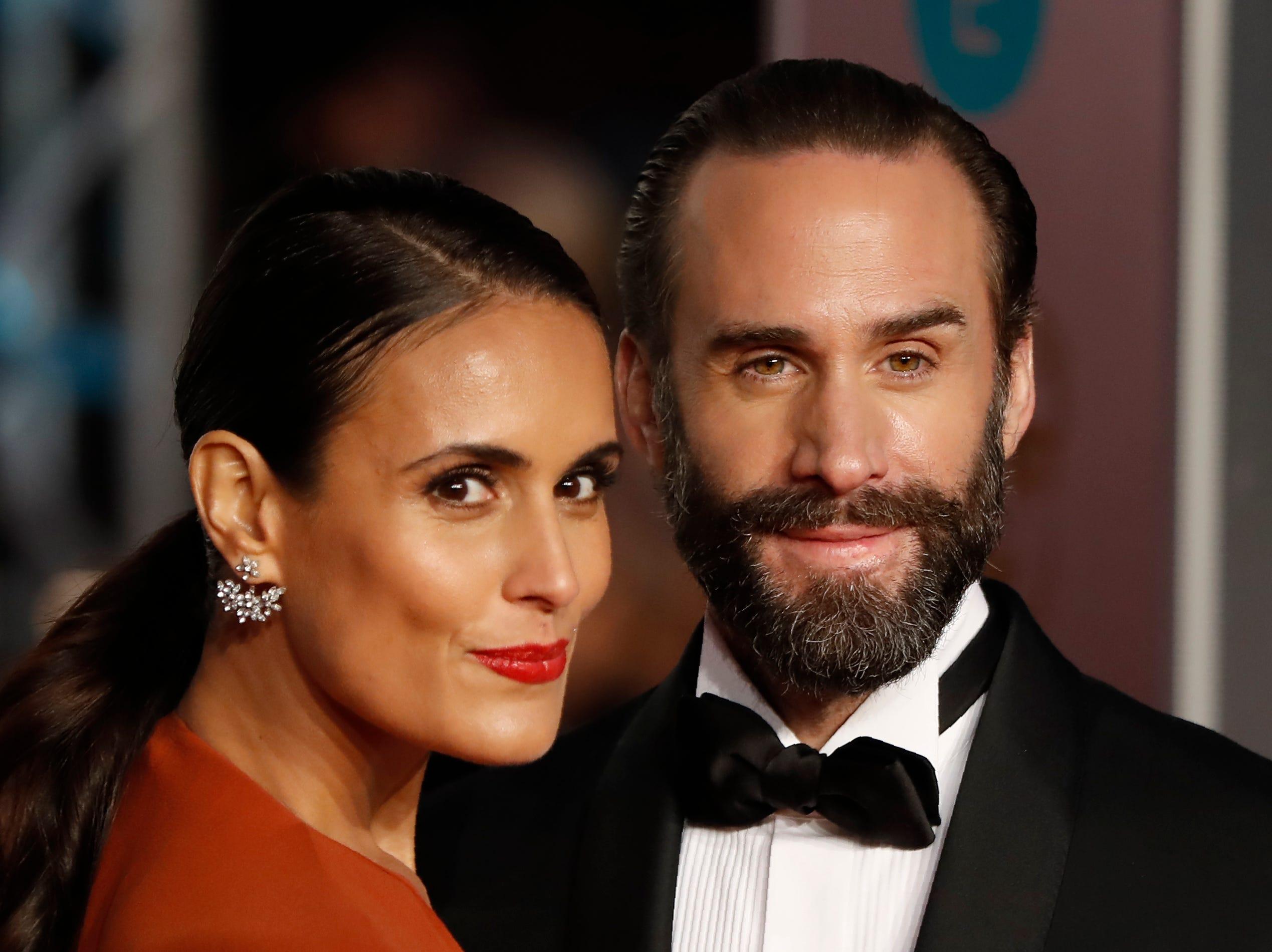 Joseph Fiennes and Maria Dolores Dieguez