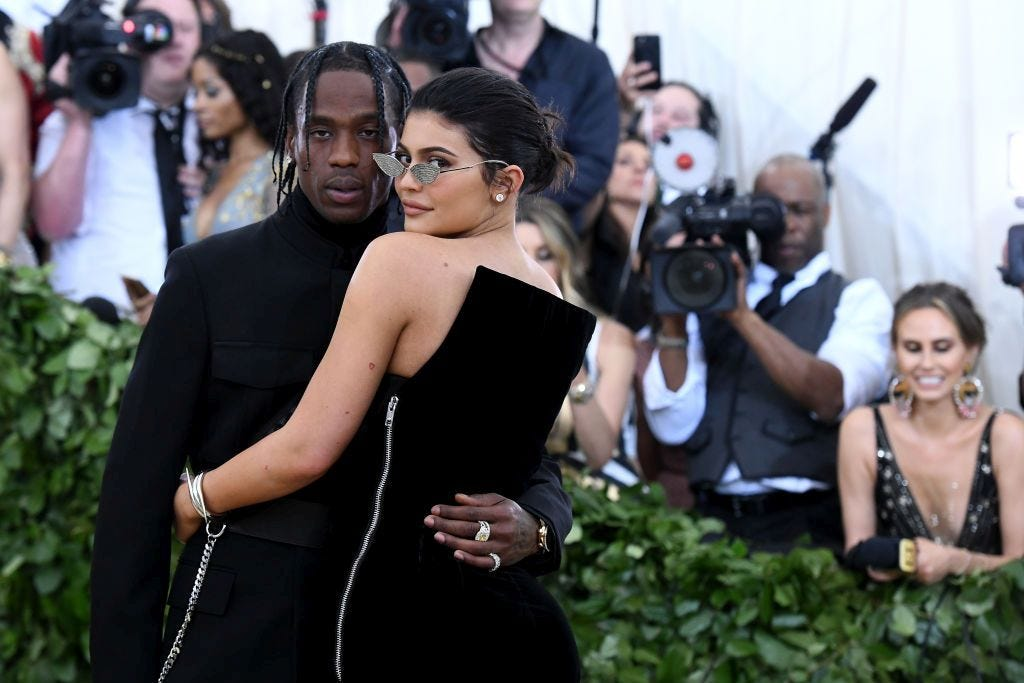 Kylie Jenner and Travis Scott's birthday party for daughter Stormi was baby heaven