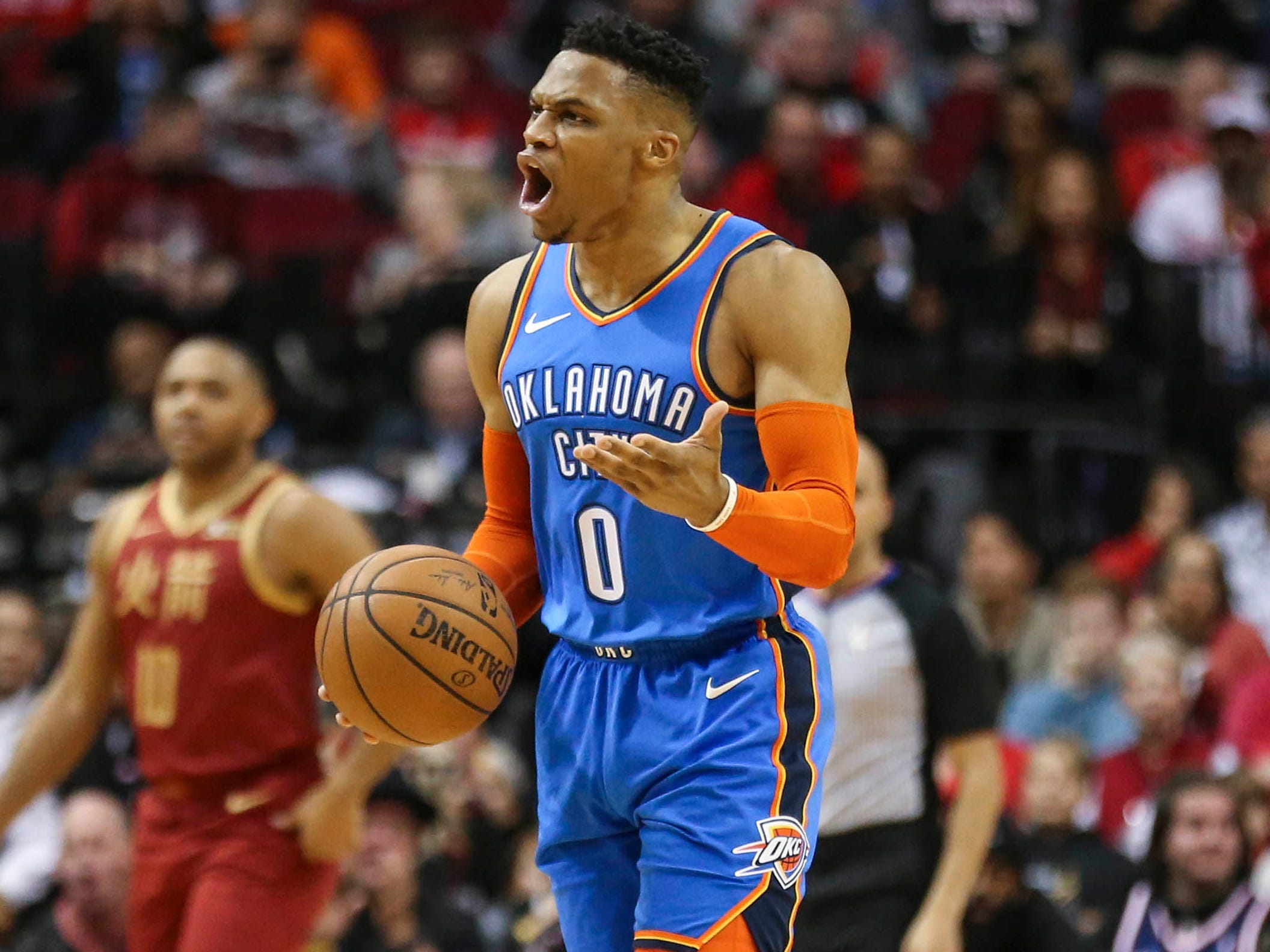79. Russell Westbrook, Thunder (Feb. 9): 21 points, 12 rebounds, 11 assists in 117-112 win over Rockets (22nd of season).