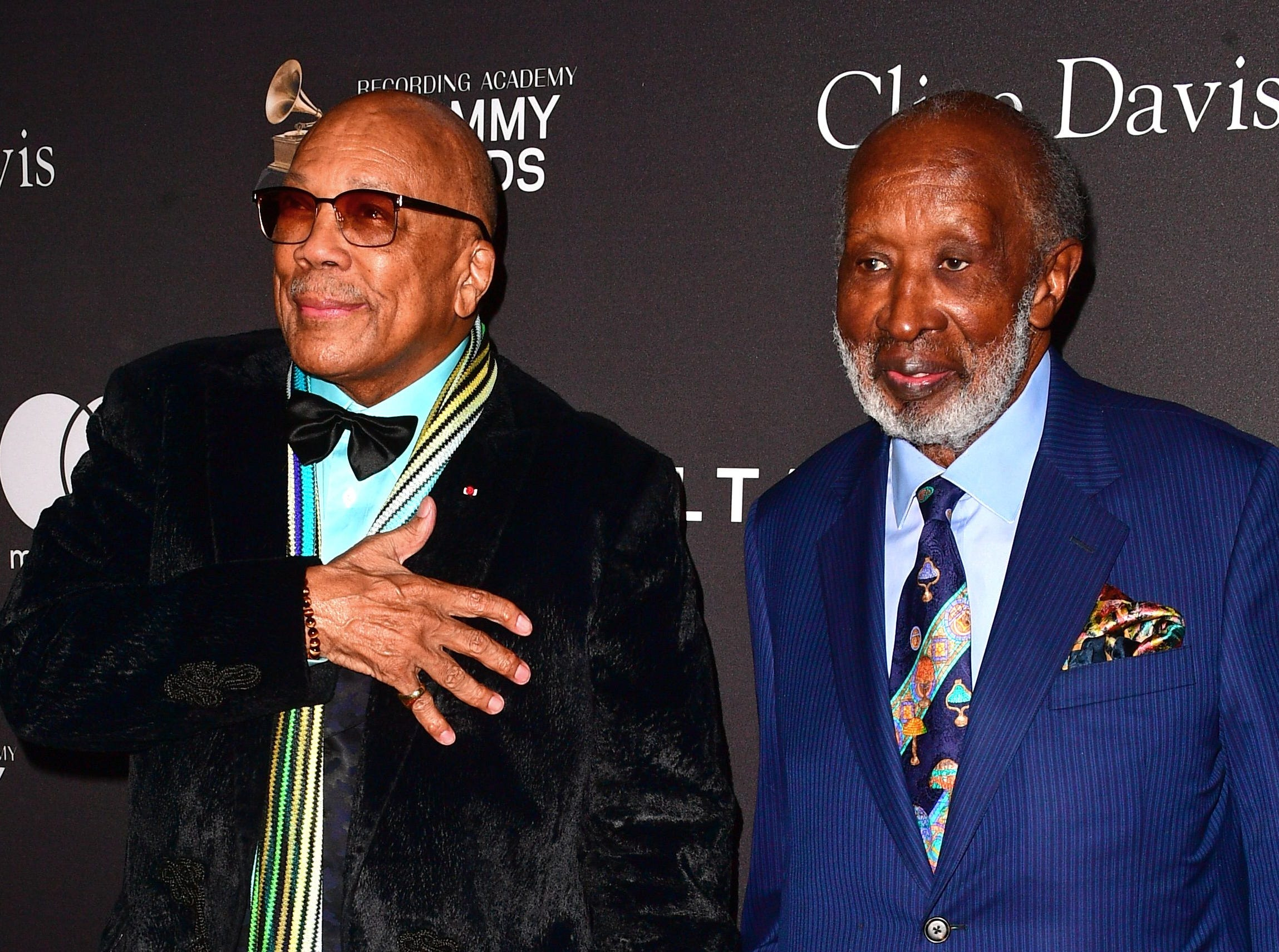 Quincy Jones and honoree of the night Clarence Avant.