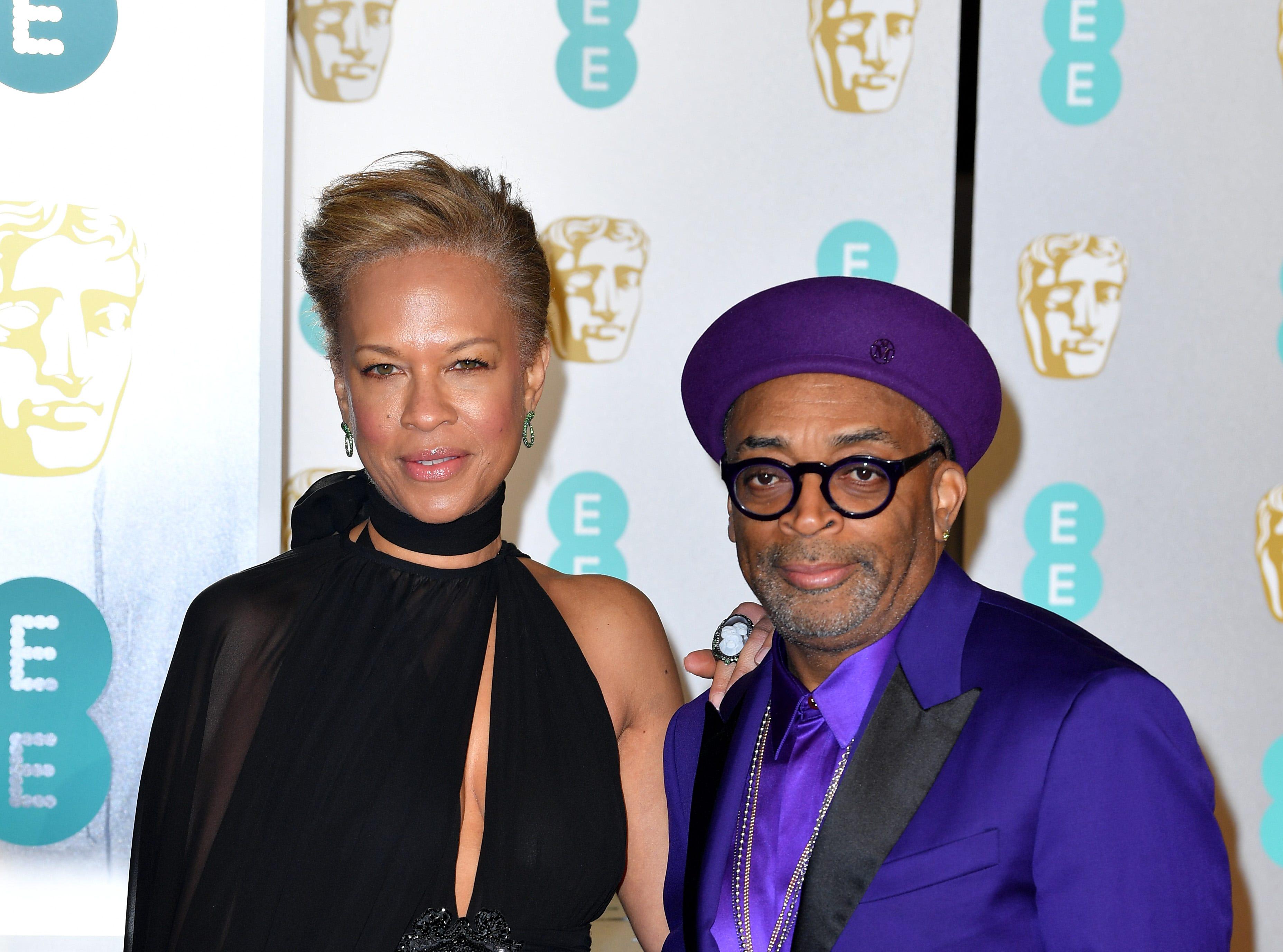 Director Spike Lee and Tonya Lewis Lee