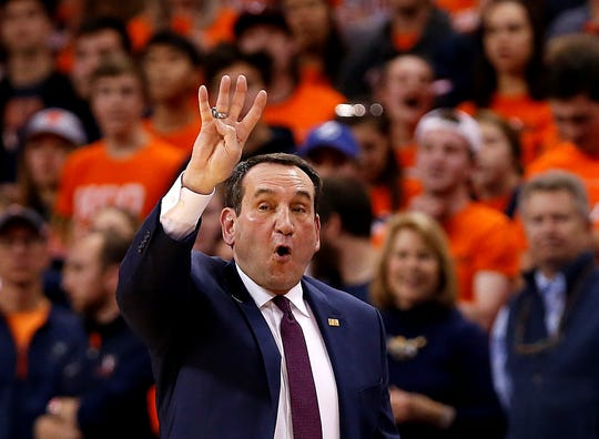 Duke coach Mike Krzyzewski says the university takes the rape allegation against a former basketball player seriously.