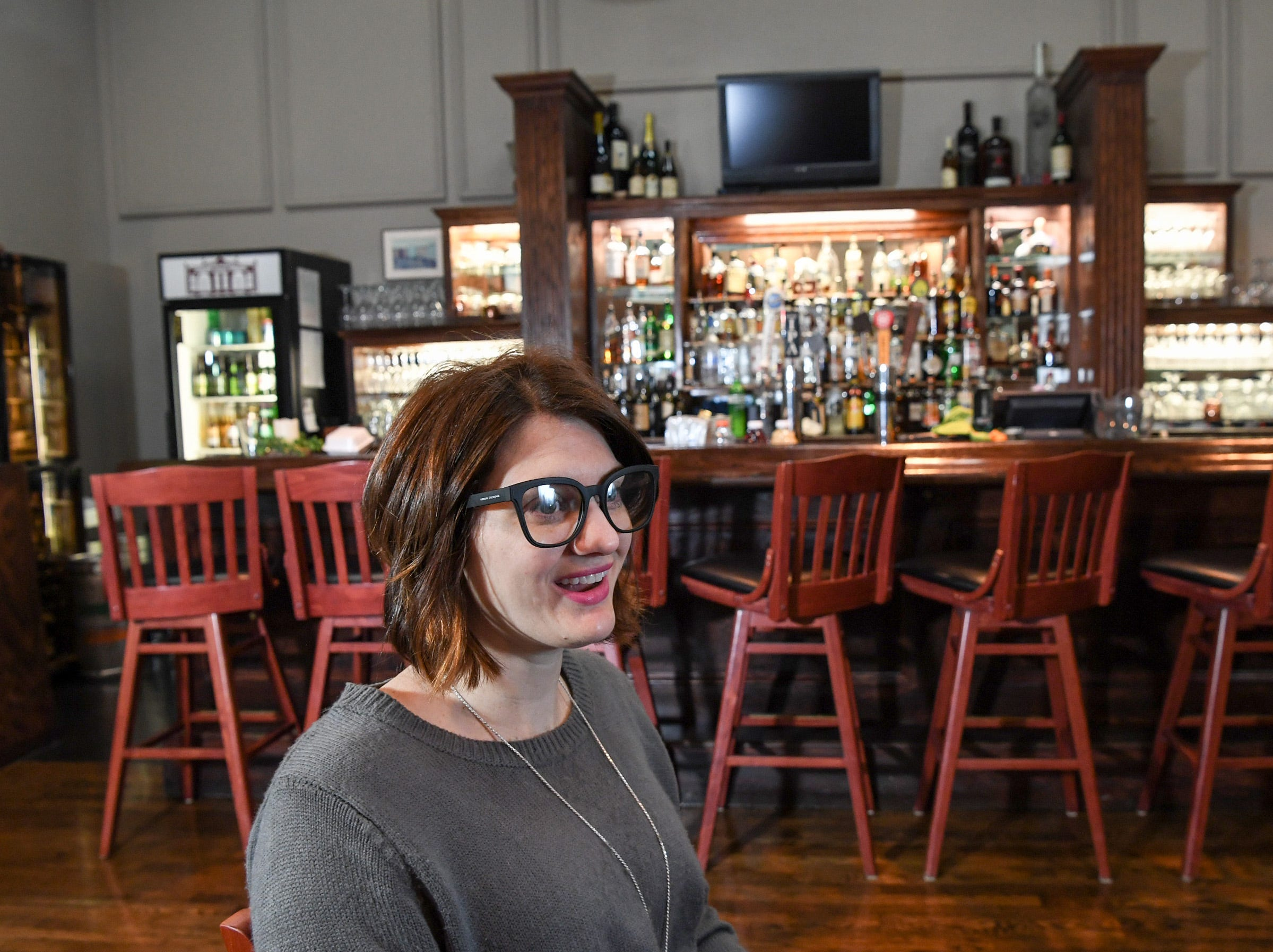 Ali Stigall, manager at Sullivan's Metropolitan Grill in Anderson, talks working with good employees and a seeing a supportive community in a growing downtown Anderson.