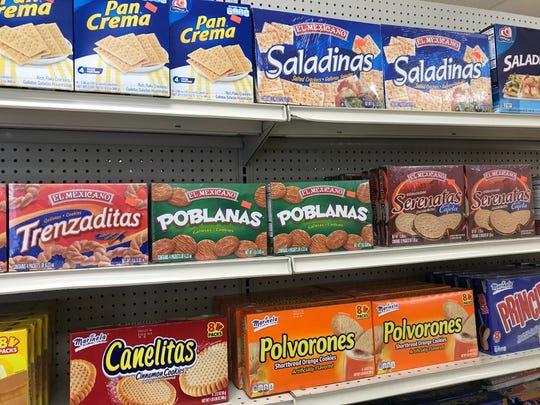 Lindo Michoacan's new mini mart offers many Hispanic favorites.