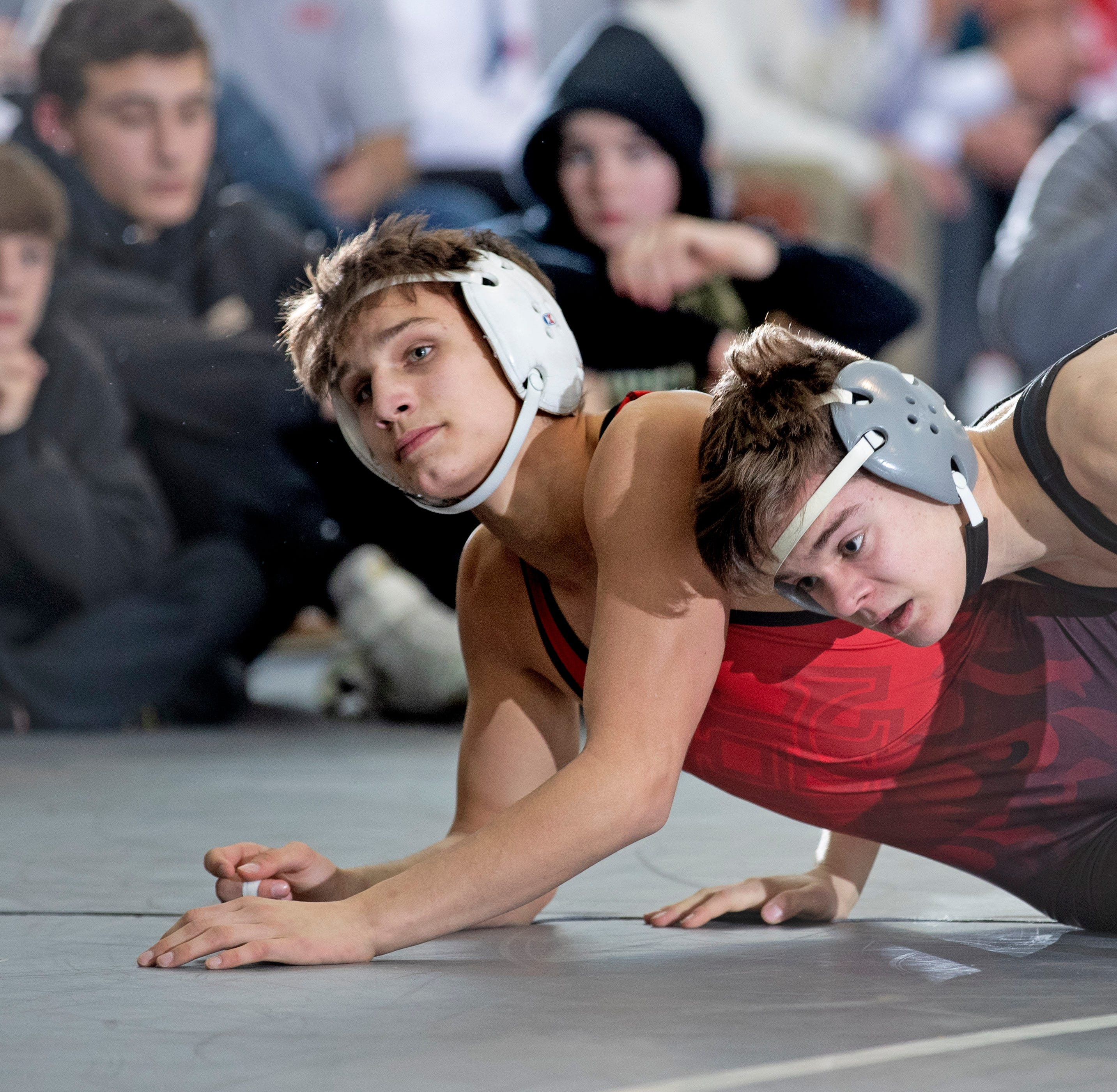 NJ Wrestling: 'Gutsy' Hunterdon Central's postseason run ends with 34-27 loss to Southern in Group V final