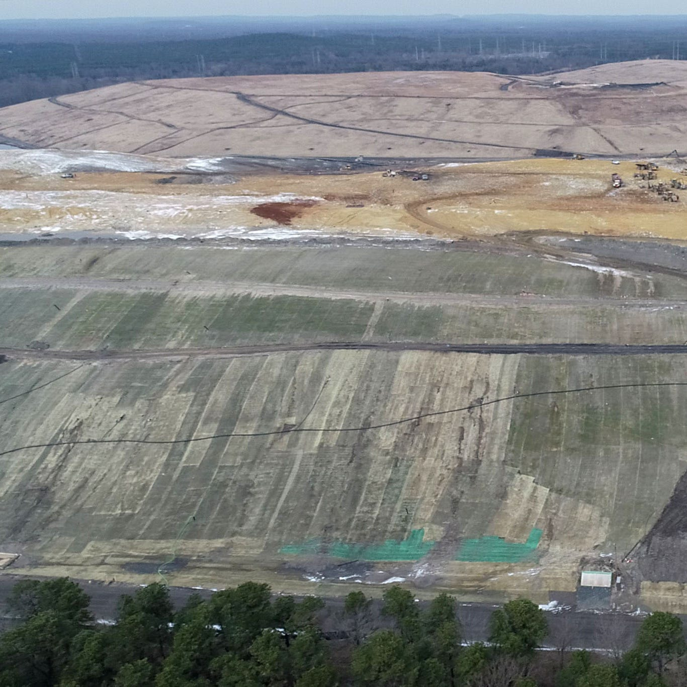 See drone video of Monmouth County landfill; county trying odor solution
