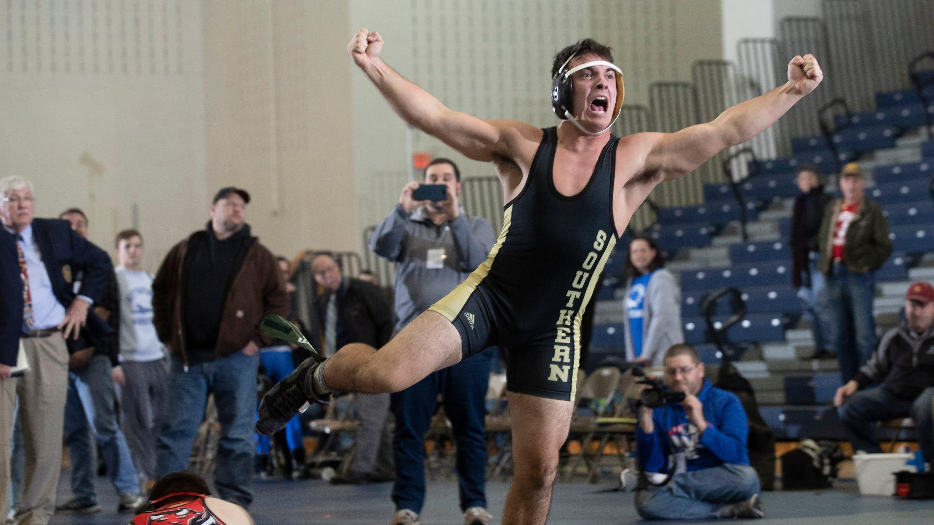 NJ wrestling: Southern wins Group V championship