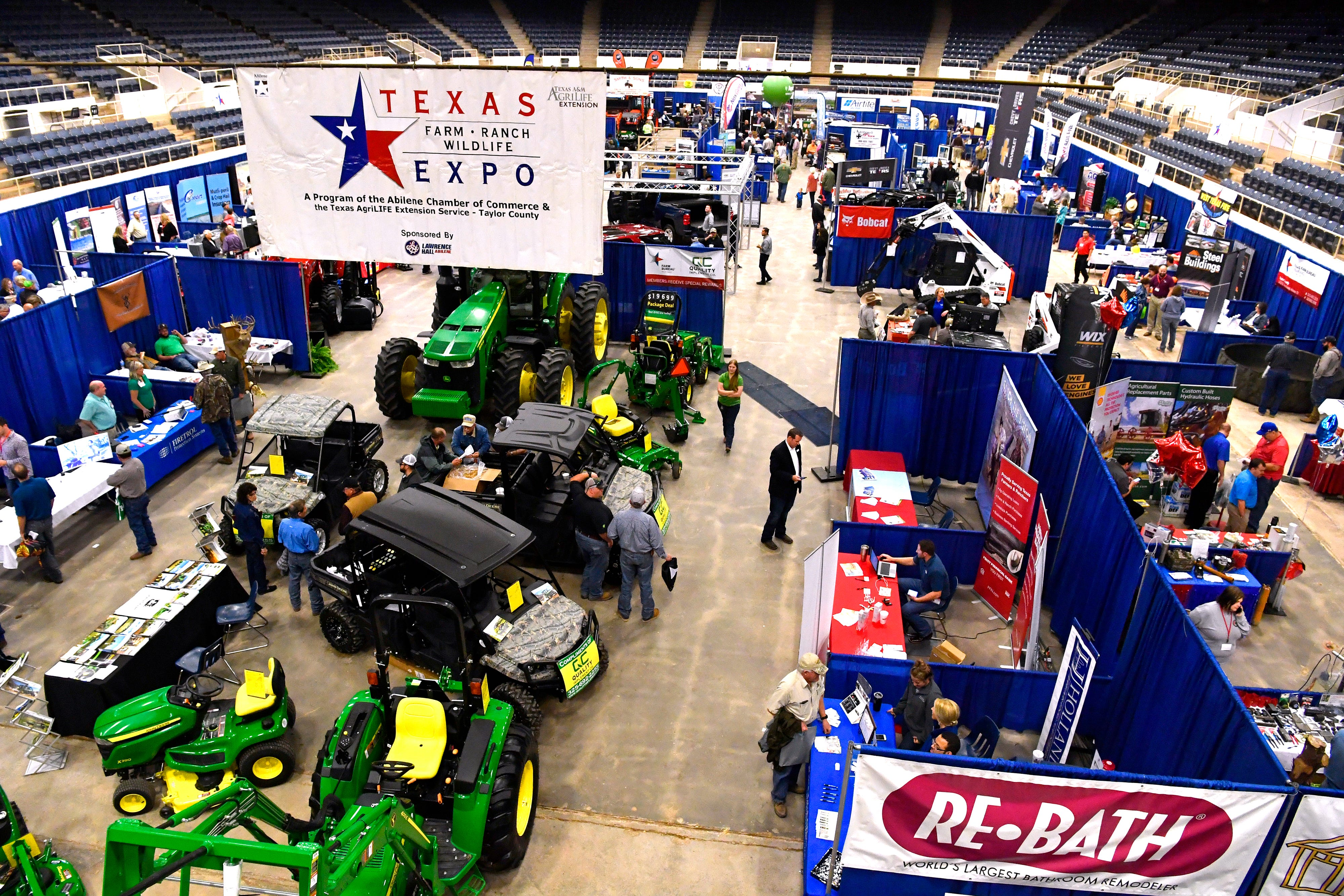 The Texas Farm & Ranch Wildlife Expo, Feb. 20, 2018, at the Taylor County Coliseum.