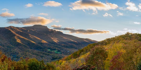 The diversity of flora on Grandfather Mountain makes it an idyllic location for fall color display.