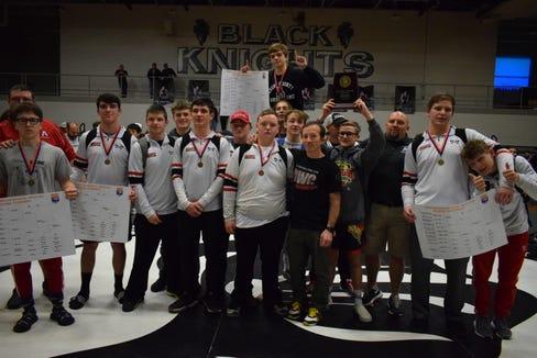 Avery County won the 1A West regional meet