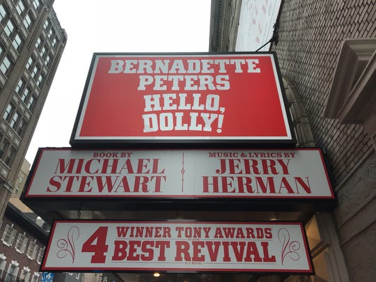 "Bernadette Peters took over the role of Dolly Gallagher Levi in ""Hello, Dolly!"" in the Spring."