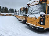 Each weather event brings its own challenges. Here's how school officials decide whether to cancel classes. South Kitsap School District Transportation Director Jay Rospape explains on a ride-along of snowy roads in Port Orchard Feb. 11, 2019.