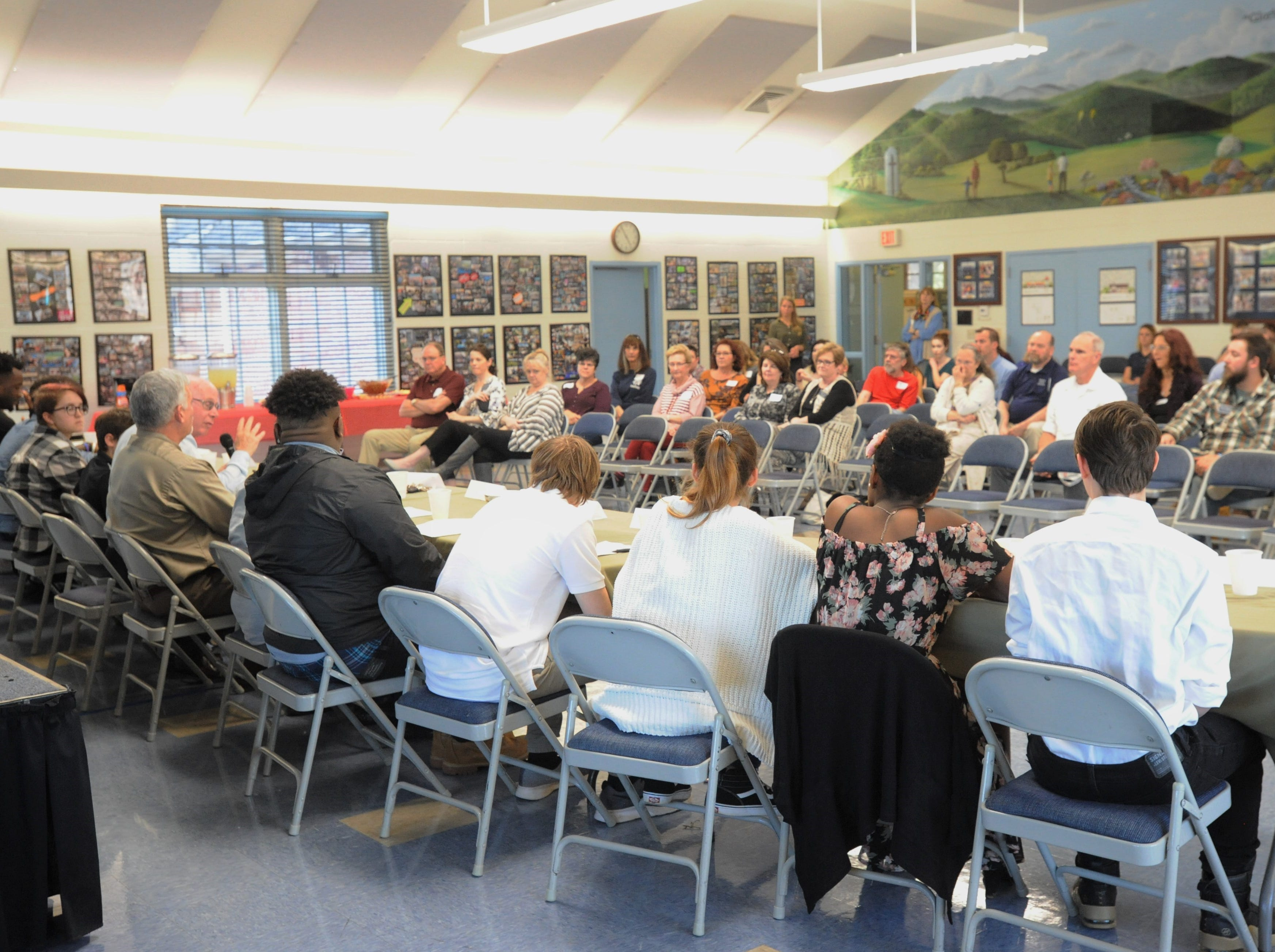 Youth offer thoughts on Black Mountain Home for Children