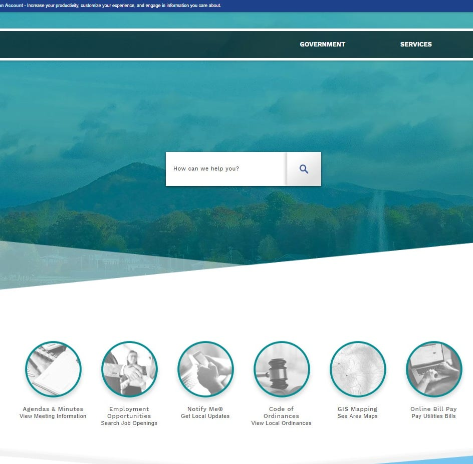 Town of Black Mountain to launch new website