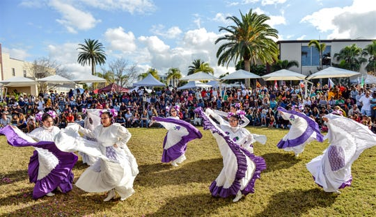The International Festival showcases the world's cultures and cuisine from noon to 5 p.m., Saturday, Feb. 16, at Panther Plaza, the Melbourne university's outdoor event venue.