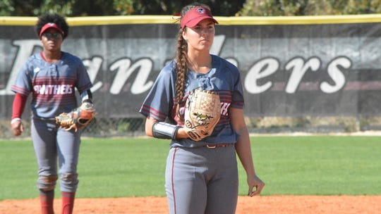 Melbourne's Melanie Murphy helped Florida tech go 5-0 and win the NFCA Division II Leadoff Classic this past weekend.