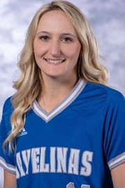 Texas A&M Kingsville sophomore Loren Kelly (Rockport-Fulton): Drewa lead-off walk, swiping second and third andscored the first run on an infield hit against Drury University.